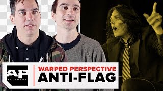 """""""It was those kids and those songs and some eyeliner""""–Anti-Flag's Warped Perspective"""