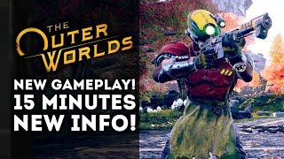 The Outer Worlds - New Gameplay BLOWOUT! Every Detail! Complete Walkthrough of Features!