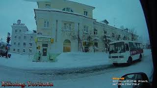 Воркута Прогулка по ул  Ленина