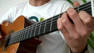 Theme from Once Upon A Time in Mexico - Guitar