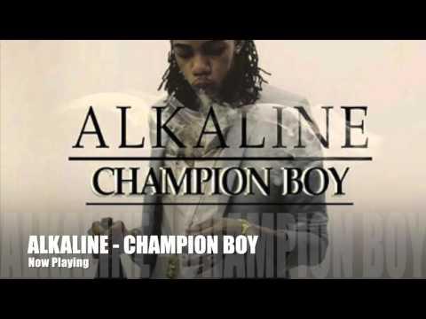 ALKALINE - CHAMPION BOY   FIRE STARTA RIDDIM   YELLOW MOON RECORDS