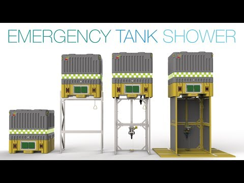 NEW Enware Emergency Tank Shower