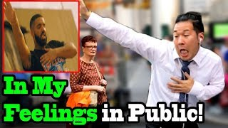 DRAKE - In My Feelings Dance (KIKI CHALLENGE IN PUBLIC!!) - Shiggy Challenge
