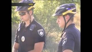 АВТО ЧП. На ДТП двох легковиків приїхали патрульні на велосипедах