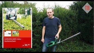 Aldi Akku Heckenschere Gardenline (Einhell) im Test Review