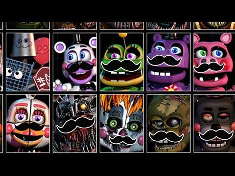 Pink Sheep Plays FIVE NIGHTS AT FREDDY'S: ULTIMATE CUSTOM NIGHT