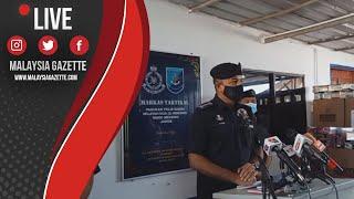 MGTV LIVE : Nilai Rampasan Termasuk Sitaan adalah Sebanyak RM 9.3j.-  Ayob Khan