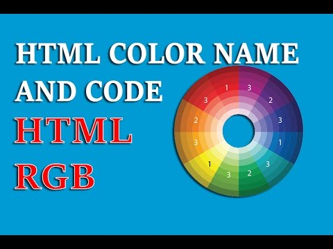 mp4 Html Color Name Code, download Html Color Name Code video klip Html Color Name Code