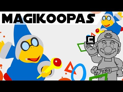 "Tips, Tricks and Ideas with Magikoopas in Super Mario Maker, or ""The Secret in the Tower""."
