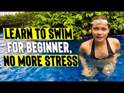 LEARN to SWIM & FLOAT for BEGINNERS (easy tutorial)
