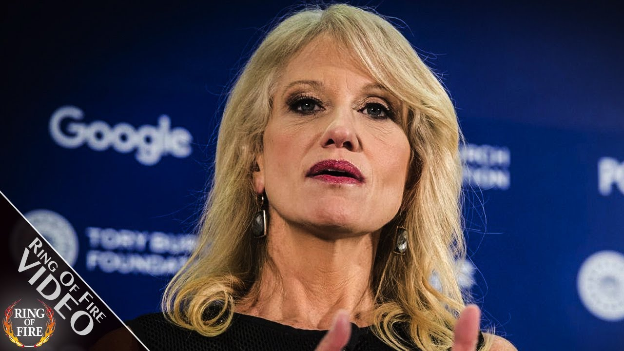 """Kellyanne Conway Says She Uses Her """"Femininity"""" To Influence Trump thumbnail"""