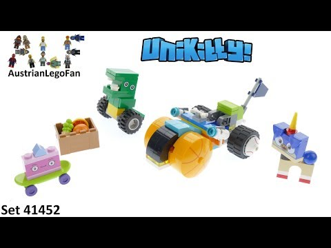 Vidéo LEGO Unikitty 41452 : Le tricycle de Prince Puppycorn
