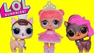 Куклы лол 3 серия распаковка шарика Питомцы Мультик про Игрушки для девочек   TOYS AND DOLLS