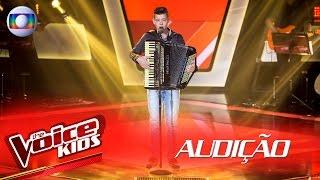 João Pedro Locatelli canta '60 Dias Apaixonado' na Audição -  The Voice Kids Brasil | 2ª Temporada
