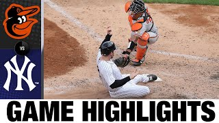 Gleyber Torres lifts Yankees to 3-1 win | Orioles-Yankees Game Highlights 9/13/20