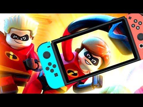 LEGO СуперСемейка #4 Прохождение Игры - LEGO The Incredibles Nintendo Switch Gameplay