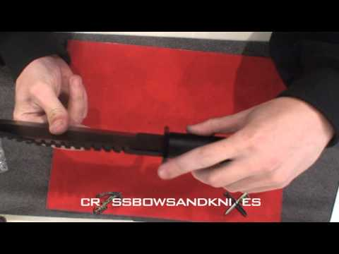 1035 Rambo First Blood II Hunting Knife Reviewed by CrossbowsandKnives