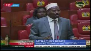 Members of Parliament weigh in on cattle rustling in the country