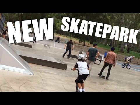 NEW TEMPORARY SKATEPARK!