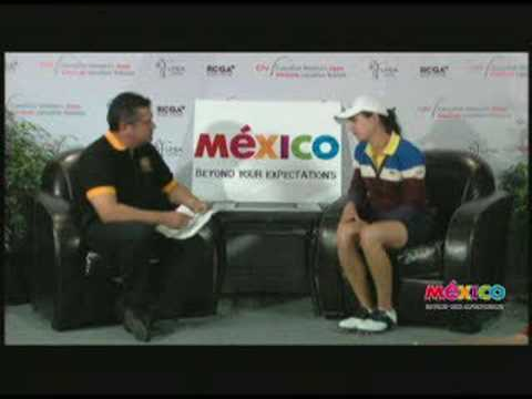 Hector del Castillo interviews Lorena Ochoa