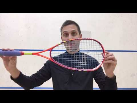 Salming Fusione Squash Racket Review
