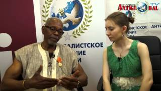 Interview with the leader of the African People