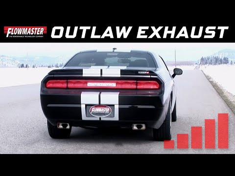 2008-14 Dodge Challenger SRT8 - Outlaw Cat-back Exhaust System 817563