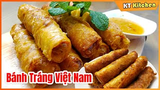 CHẢ GIÒ   Bí Quyết Giòn Tan   Để Lâu Vẫn Giòn [ Công Thức Nhà Hàng ] Vietnamese Eggroll Recipe