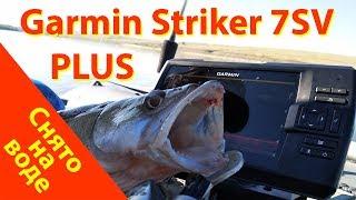 Garmin Striker PLUS 7SV с контурами Quickdraw Contours на рыбалке на судака