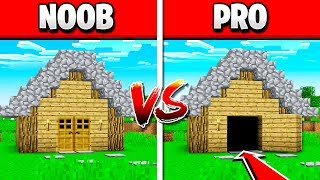 WHAT'S THE DIFFERENCE BETWEEN A NOOB VS PRO HOUSE?