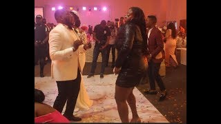 Adaku Of Jennifer's Diary & Akpororo In Dance Battle With Comedian Ajebo& His Bride At Their Wedding