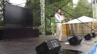 00204 Starptautiskā Jogas diena LU Botāniskajā dārzā Rigā 21.06.2016 Международный день йоги в Риге