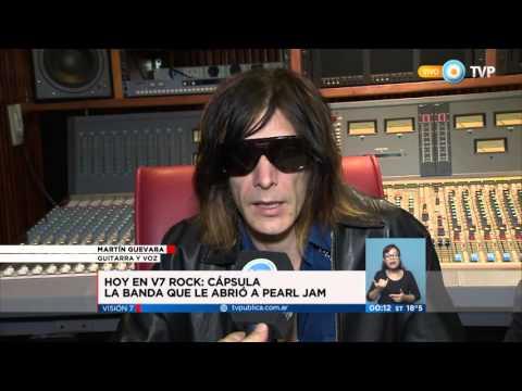 Visión 7 Rock - Cápsula, la banda soporte de Pearl Jam