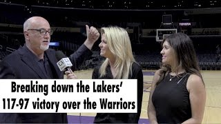 Breaking down the Lakers' 117-97 victory over the Warriors
