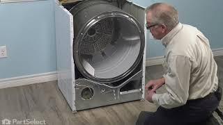 GE Dryer Repair - How to Replace the Safety Thermostat (GE # WE4M160)