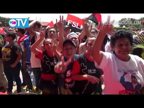 Masaya dice presente en el 39 aniversario de la Revolución