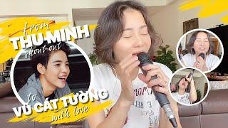 Chị Thu Minh shout out to bé Vũ Cát Tường   IF (cover)
