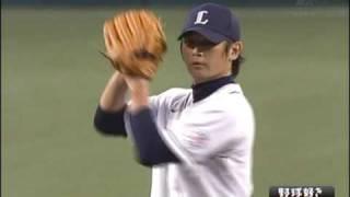 西武・涌井秀章自己最多タイ12奪三振