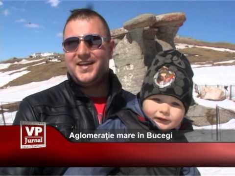 Aglomerație mare în Bucegi