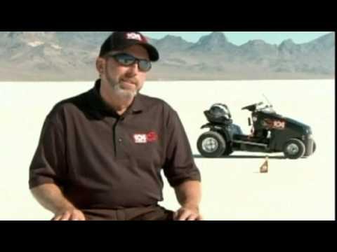 Watch The World's Fastest Lawnmower Hit 154km/h
