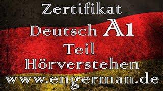 Zertifikat Deutsch A1 | Hörverstehen A1| Modelltest 1