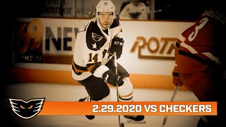 Checkers vs. Phantoms | Feb. 29, 2020