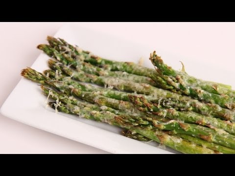 Parmesan Roasted Asparagus Recipe – Laura Vitale – Laura in the Kitchen Episode 370