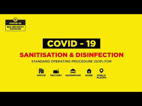 Concentrated Surface Disinfectant