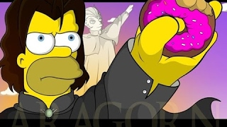 The Simpsons Funniest Moments #180 HD Lord Of The Rings