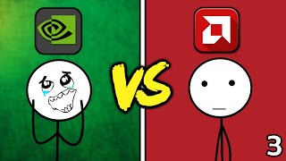 NVIDIA Gamers VS AMD Gamers (The Last Ride)