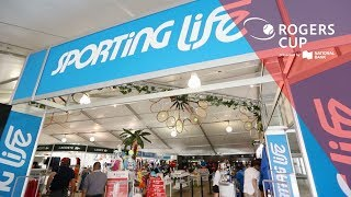 Sporting Life offers the best in shopping at Rogers Cup 2019