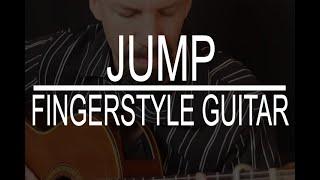 Jump (Van Halen) - classical guitar cover by Daryl Shawn