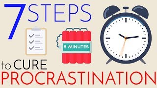 Procrastination – 7 Steps to Cure
