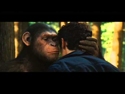 Rise of the Planet of the Apes - Ceasar can speak!!